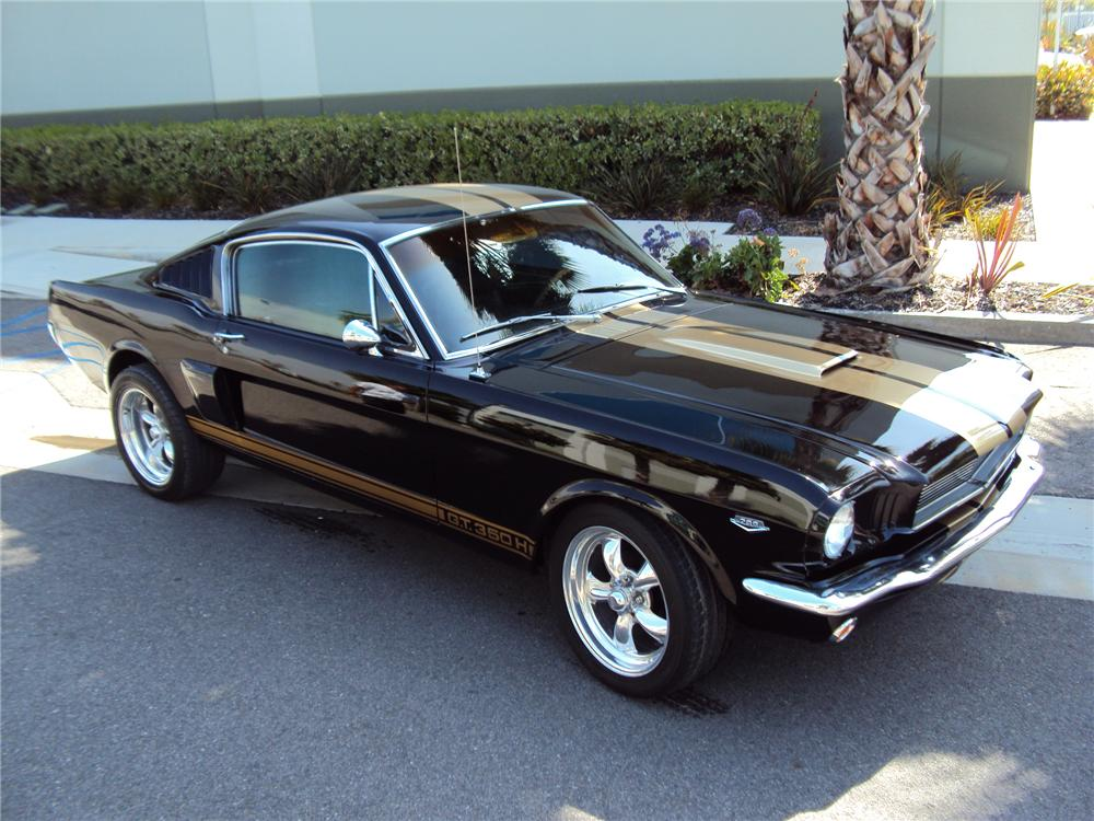 1966 ford mustang custom fastback 130404. Black Bedroom Furniture Sets. Home Design Ideas