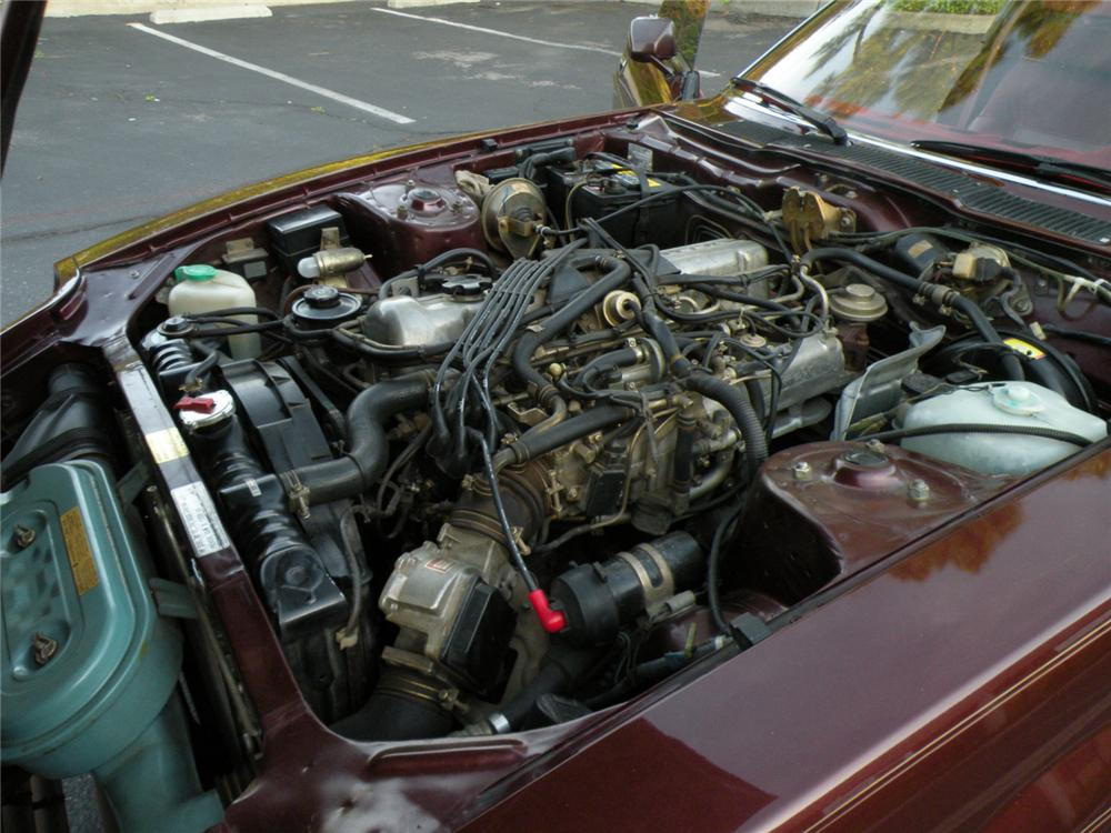 1983 DATSUN 280ZX 2 DOOR COUPE - Engine - 130416