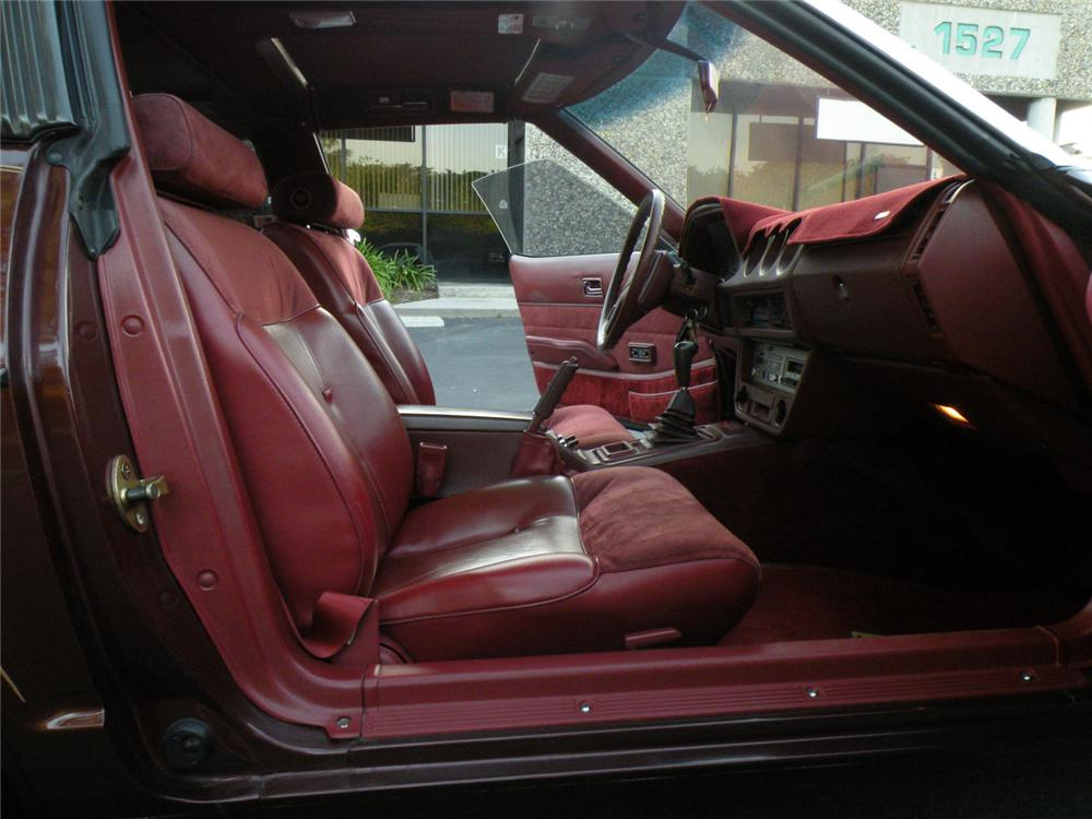1983 DATSUN 280ZX 2 DOOR COUPE - Interior - 130416
