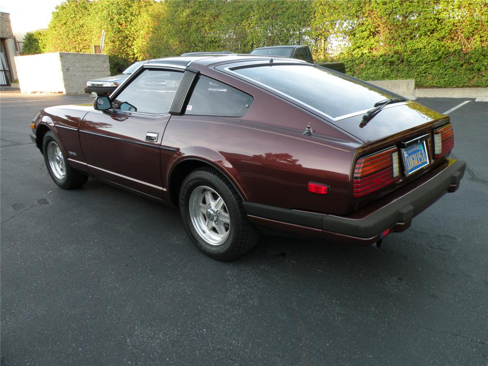 1983 DATSUN 280ZX 2 DOOR COUPE - Rear 3/4 - 130416