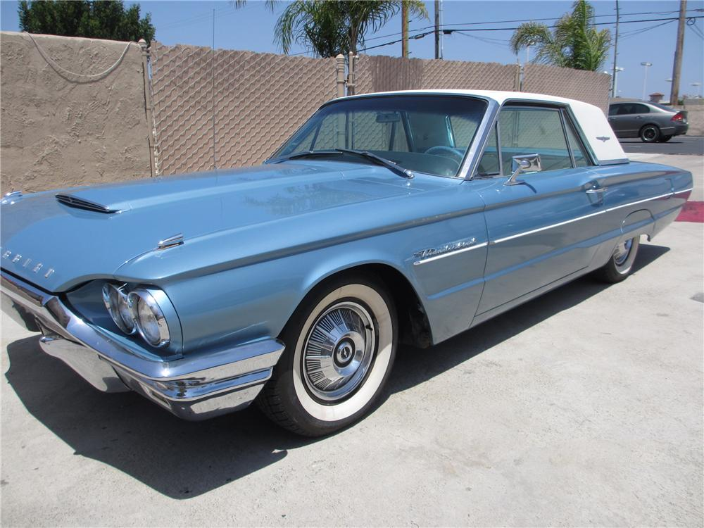 1964 FORD THUNDERBIRD 2 DOOR COUPE - Front 3/4 - 130423