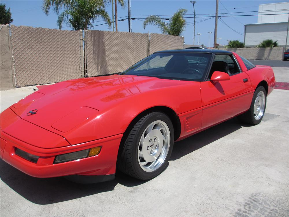 1996 chevrolet corvette 2 door coupe 130424. Black Bedroom Furniture Sets. Home Design Ideas