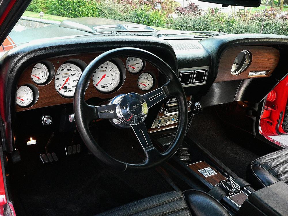 1969 ford mustang mach 1 custom fastback interior 130425