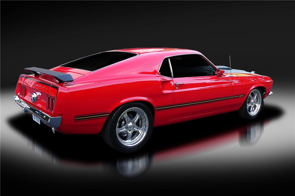 1969 FORD MUSTANG MACH 1 CUSTOM FASTBACK - Rear 3/4 - 130425