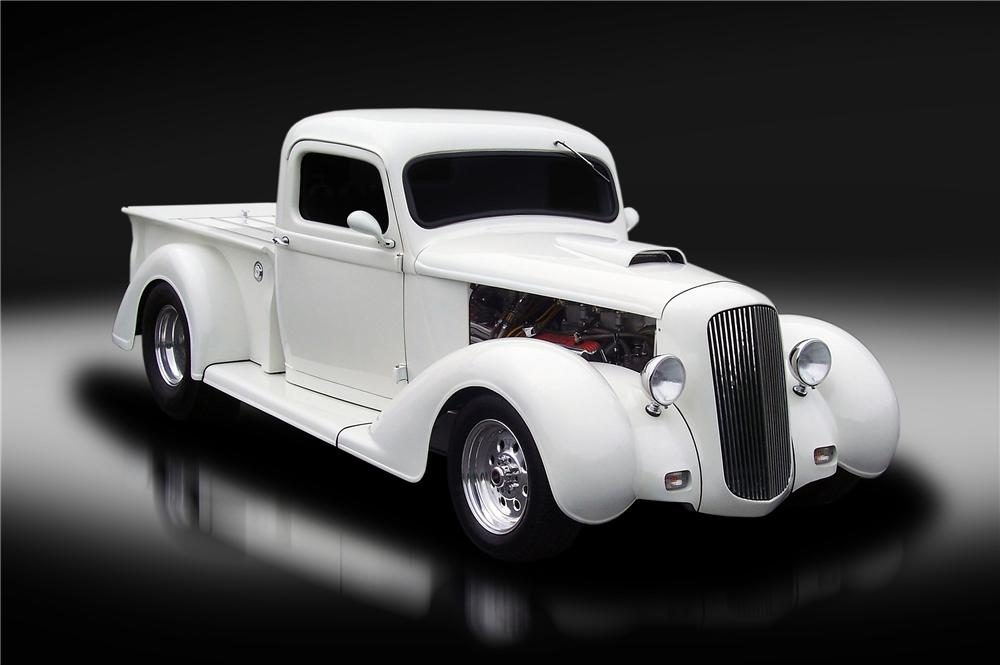 1936 DODGE BROTHERS CUSTOM PICKUP - Front 3/4 - 130428
