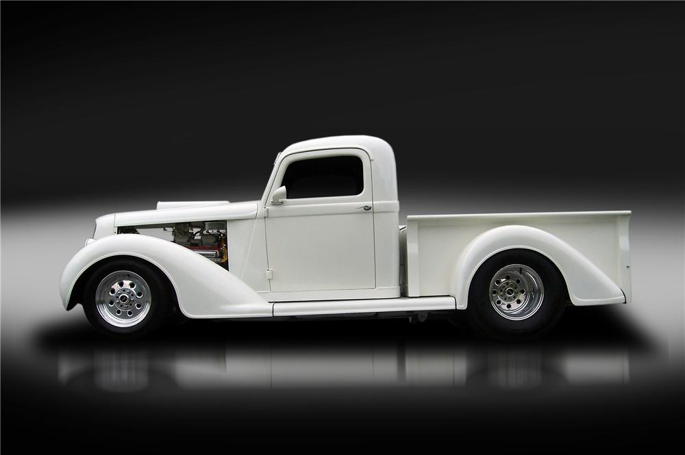 1936 DODGE BROTHERS CUSTOM PICKUP - Side Profile - 130428