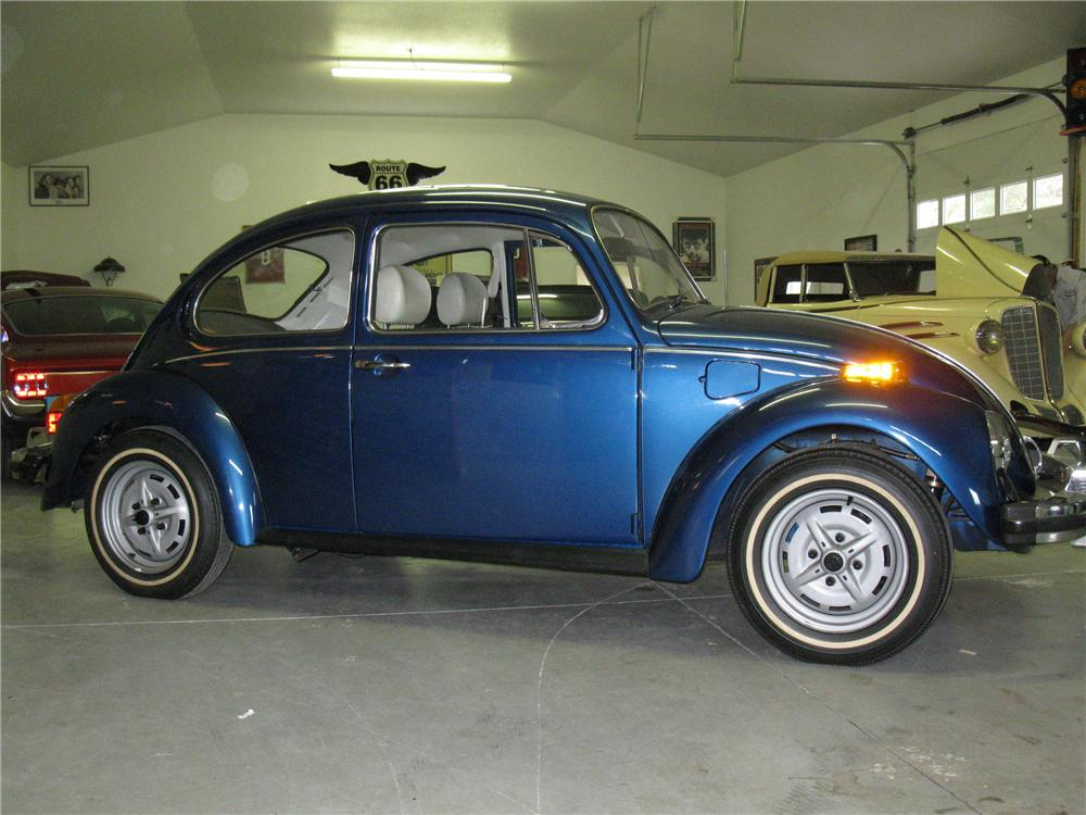 1977 VOLKSWAGEN BEETLE COUPE - Side Profile - 130431