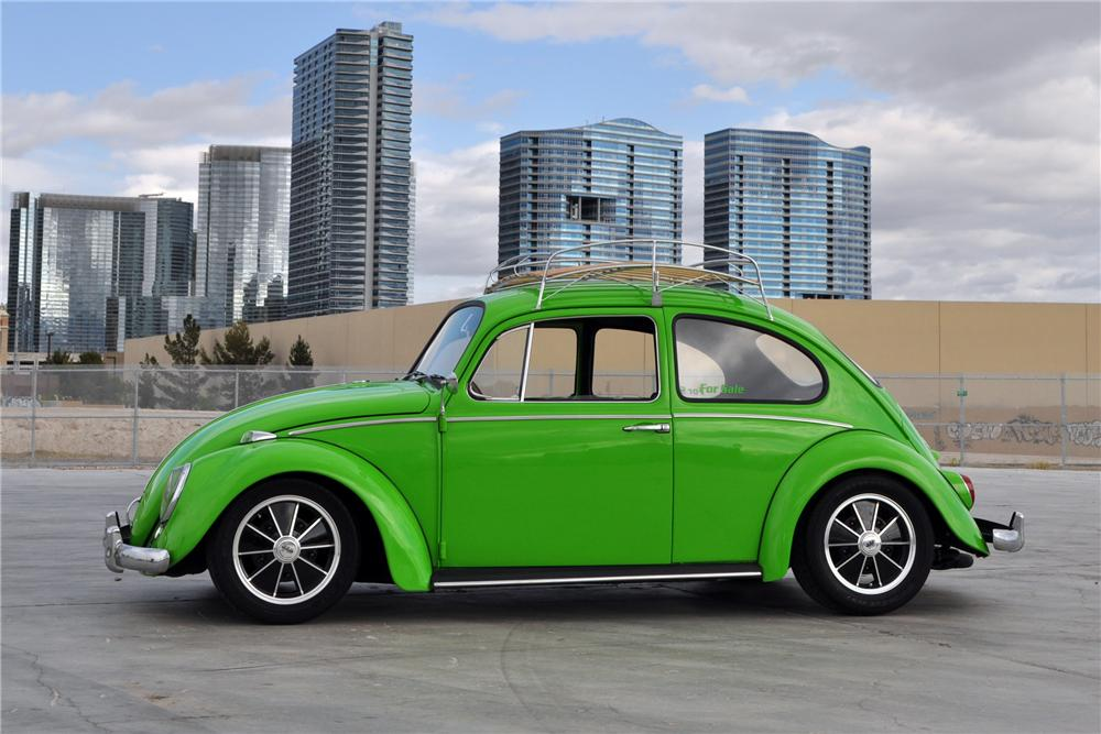1966 VOLKSWAGEN BEETLE CUSTOM 2 DOOR SEDAN - 130433