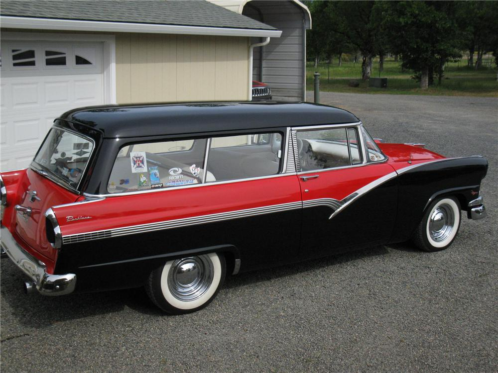 1956 ford parklane custom 2 door wagon 130436