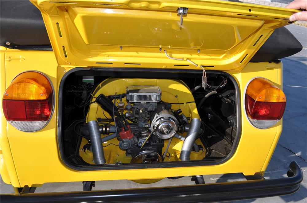 1973 VOLKSWAGEN THING CONVERTIBLE - Engine - 130438