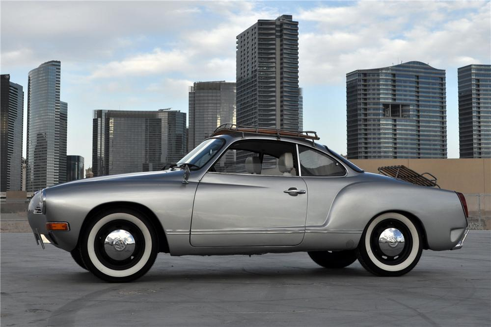 1974 VOLKSWAGEN KARMANN GHIA CUSTOM 2 DOOR COUPE - Side Profile - 130440
