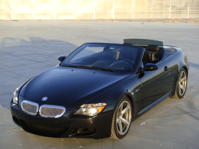 2007 BMW M6 CONVERTIBLE - Front 3/4 - 130441