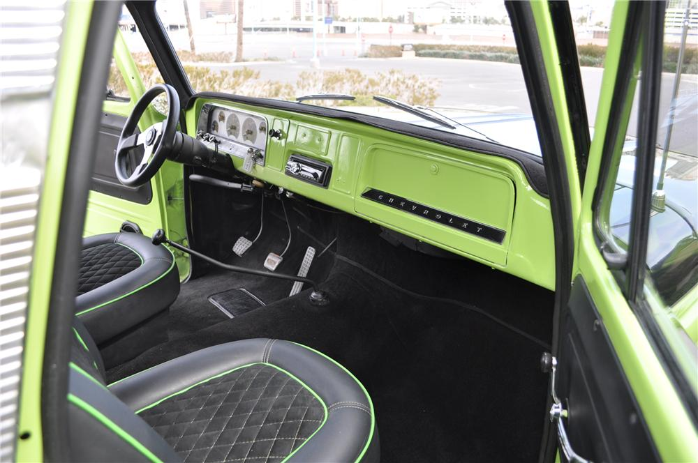 1966 CHEVROLET C-20 CUSTOM PICKUP - Interior - 130443