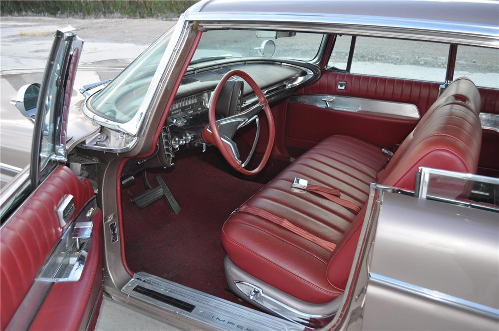 1962 IMPERIAL CROWN 4 DOOR HARDTOP - Interior - 130445