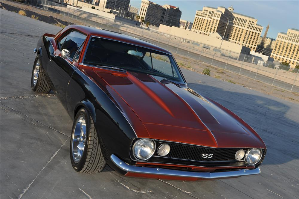 1967 CHEVROLET CAMARO CUSTOM 2 DOOR COUPE - Front 3/4 - 130446