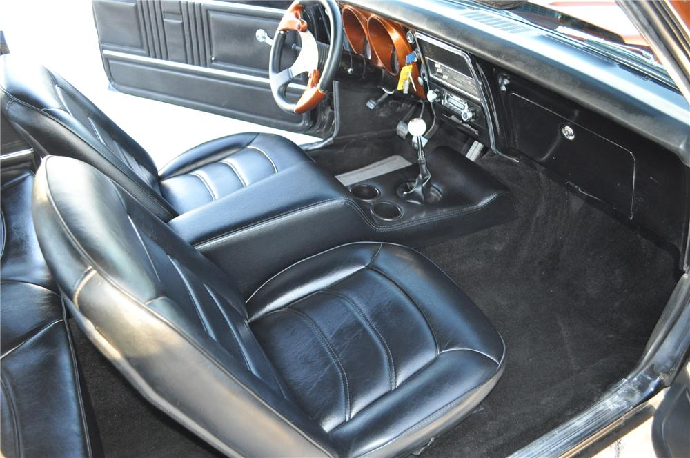 1967 CHEVROLET CAMARO CUSTOM 2 DOOR COUPE - Interior - 130446