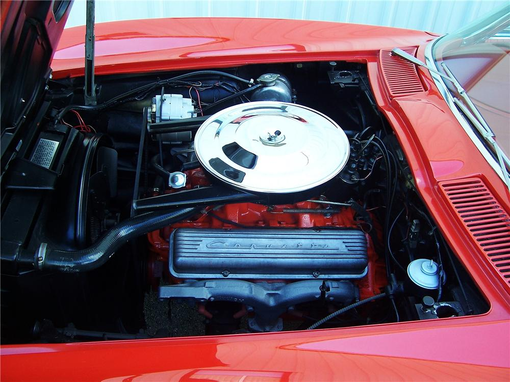 1963 CHEVROLET CORVETTE CONVERTIBLE - Engine - 130464