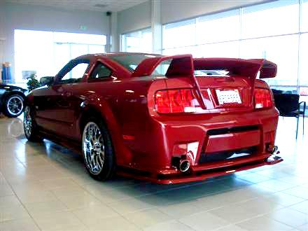 2008 FORD MUSTANG CUSTOM 2 DOOR COUPE - Rear 3/4 - 130466