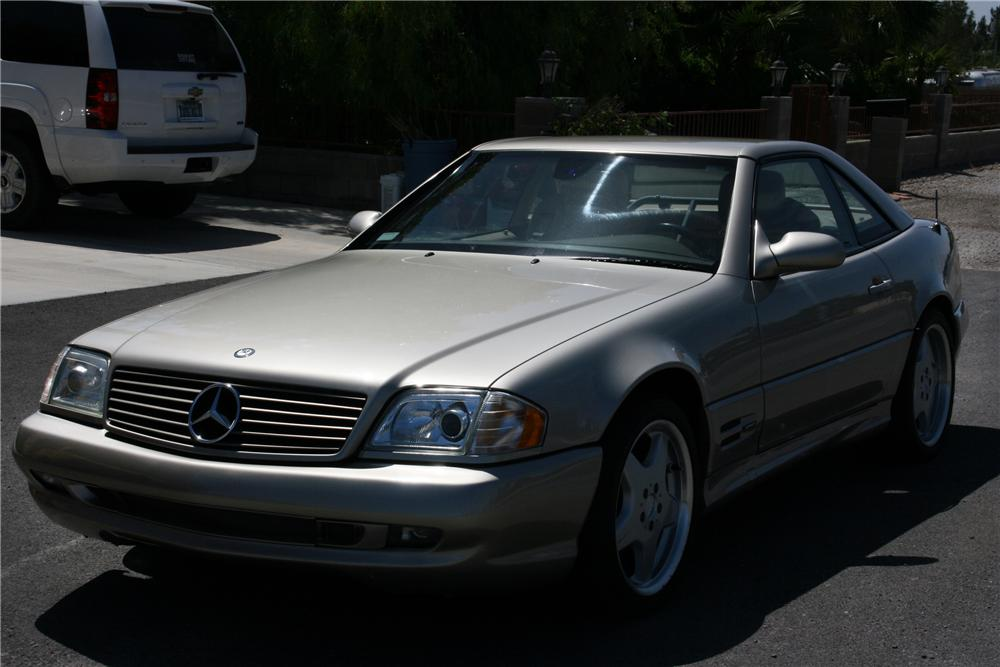 1999 MERCEDES-BENZ SL500 CONVERTIBLE - Front 3/4 - 130533