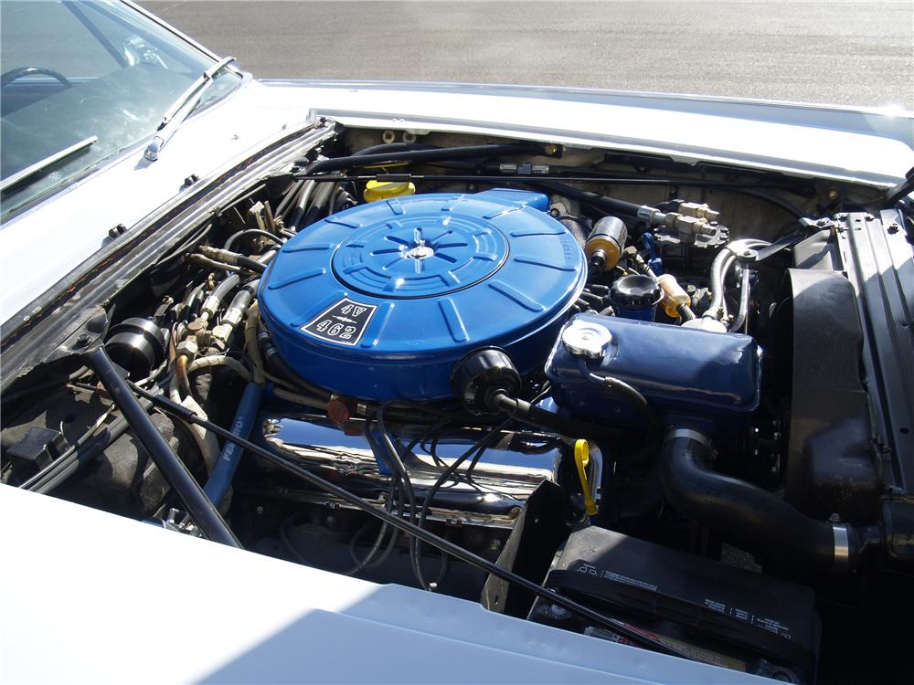 1966 LINCOLN CONTINENTAL CONVERTIBLE - Engine - 130539