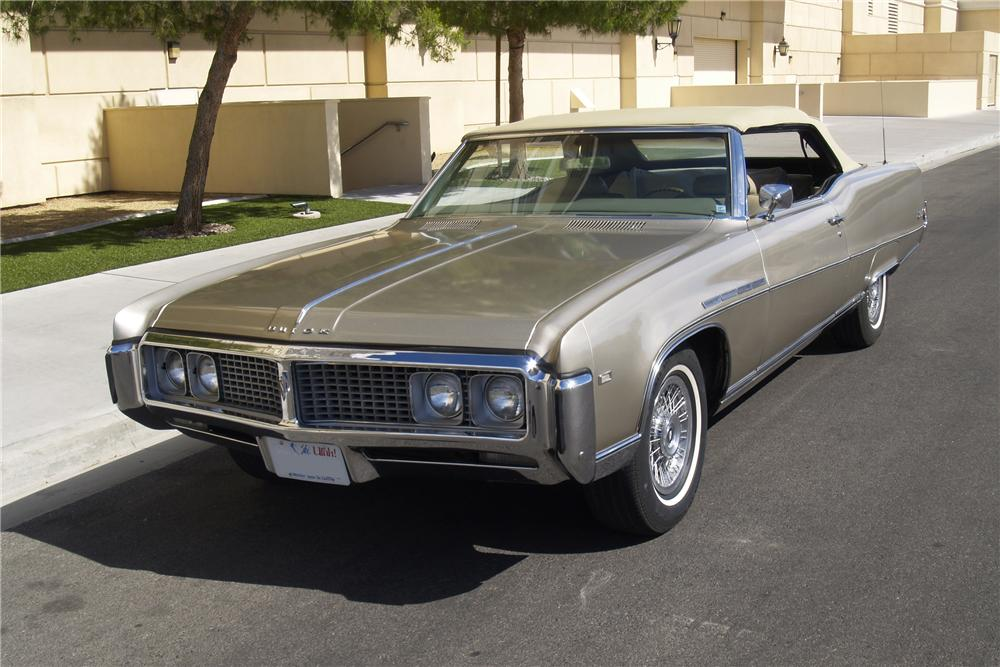 1969 BUICK ELECTRA 225 CONVERTIBLE 130541 on 1971 buick electra