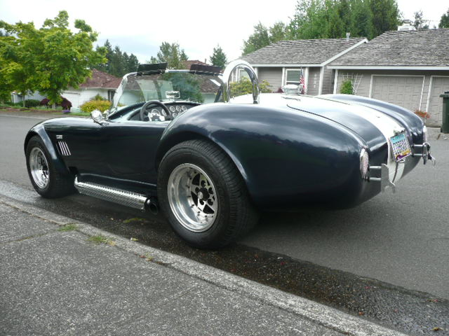 1970 SHELBY COBRA RE-CREATION ROADSTER - Rear 3/4 - 130557