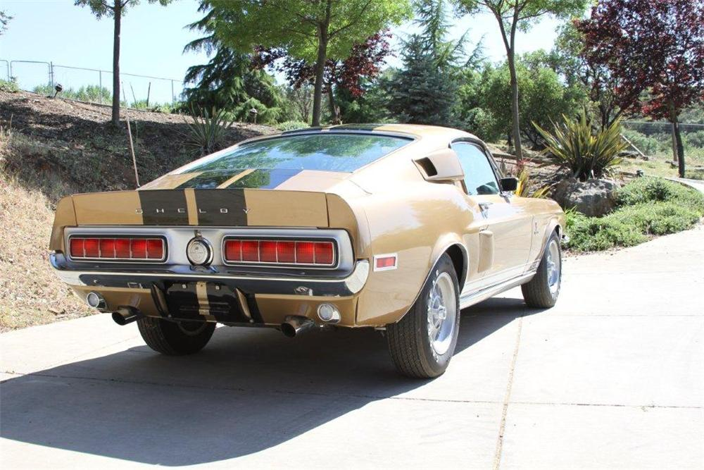 1968 SHELBY GT500 FASTBACK - Rear 3/4 - 130615