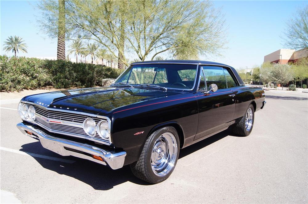 1965 Chevrolet Chevelle Ss Custom Coupe 130622