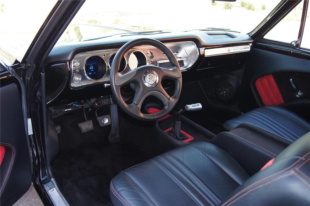 1965 CHEVROLET CHEVELLE SS CUSTOM COUPE - Interior - 130622