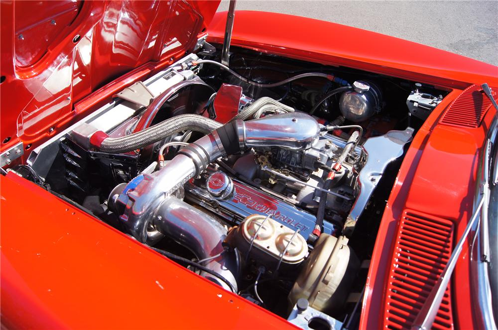 1963 CHEVROLET CORVETTE COUPE - Engine - 130623