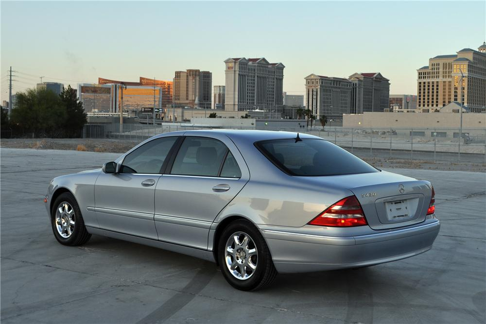 2000 mercedes benz s430 4 door sedan 130640 for S430 mercedes benz