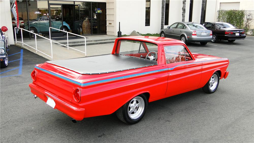 1965 ford ranchero custom pickup rear 34 130641