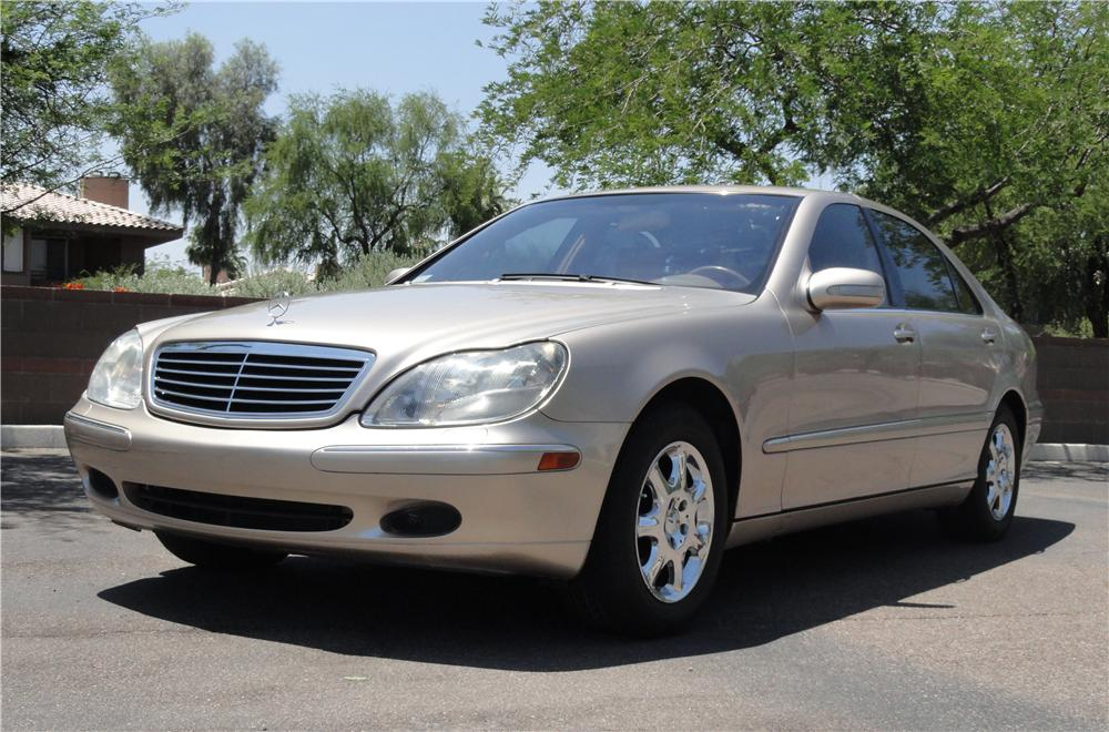 2002 mercedes benz s430 4 door sedan 130720