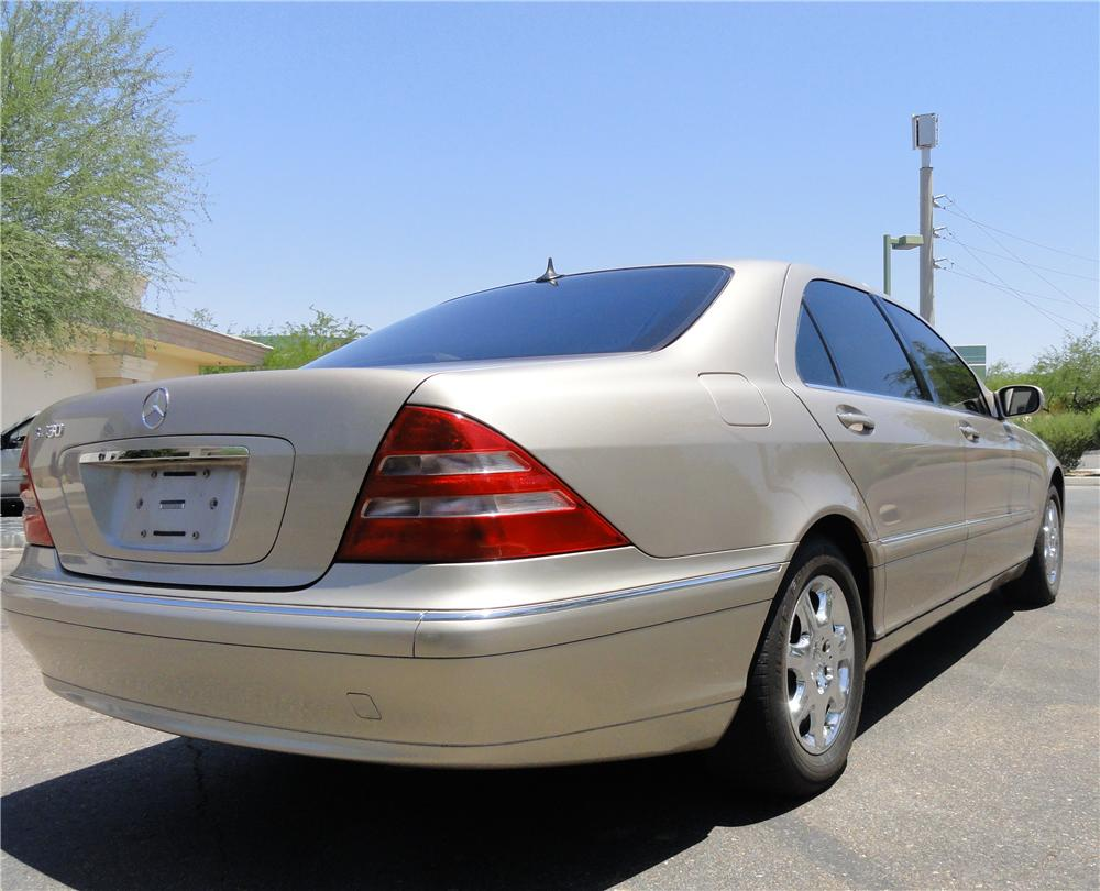 2002 mercedes benz s430 4 door sedan 130720 for Mercedes benz 4 door