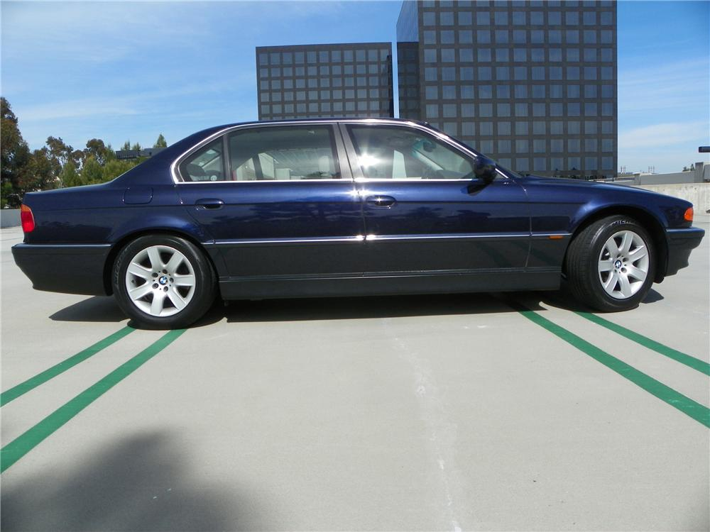 2000 BMW 740IL 4 DOOR SEDAN - Side Profile - 130726