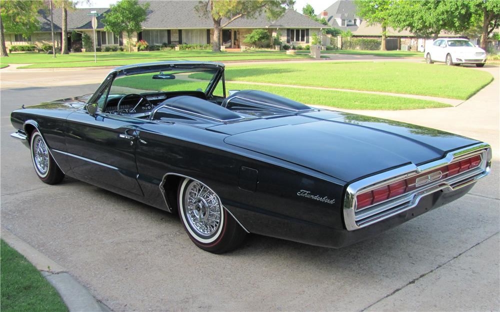 1966 ford thunderbird convertible 130736. Cars Review. Best American Auto & Cars Review