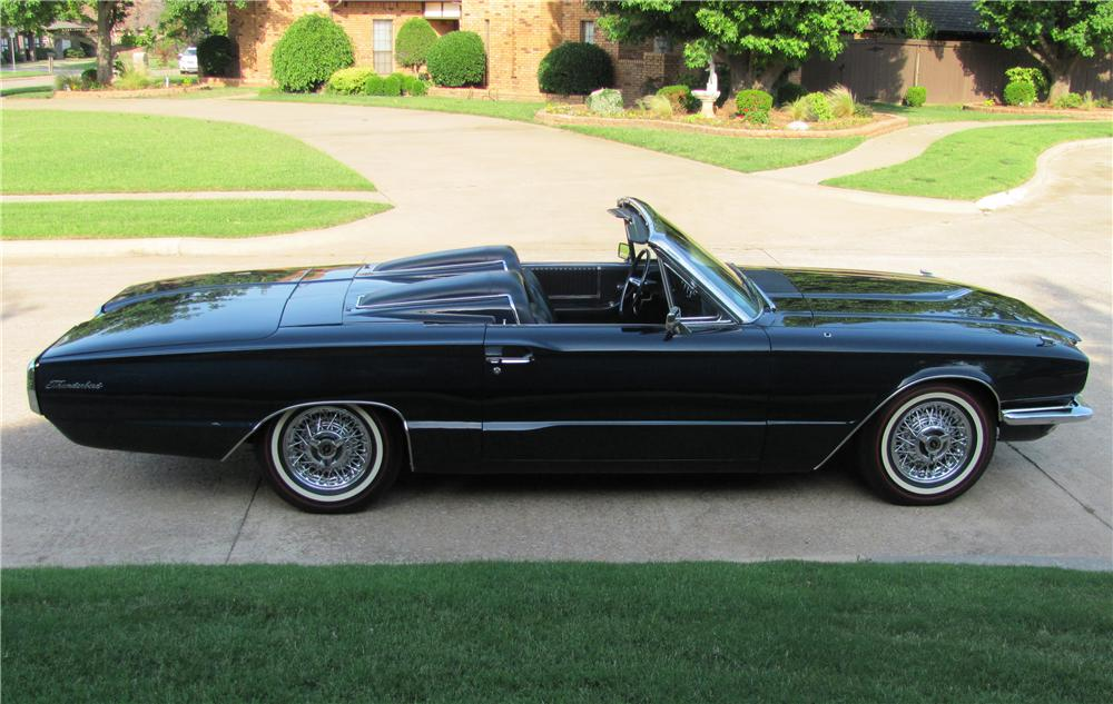 1966 ford thunderbird convertible 130736. Black Bedroom Furniture Sets. Home Design Ideas