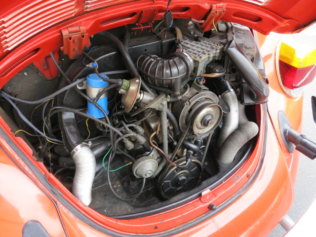 1978 VOLKSWAGEN SUPER BEETLE CONVERTIBLE - Engine - 130737