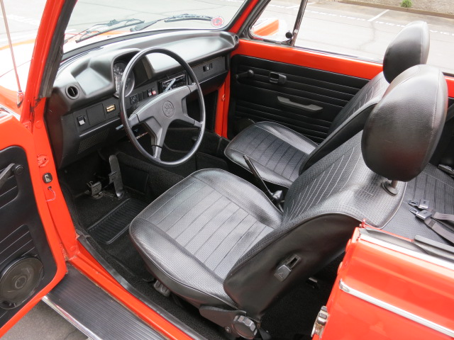 1978 VOLKSWAGEN SUPER BEETLE CONVERTIBLE - 130737