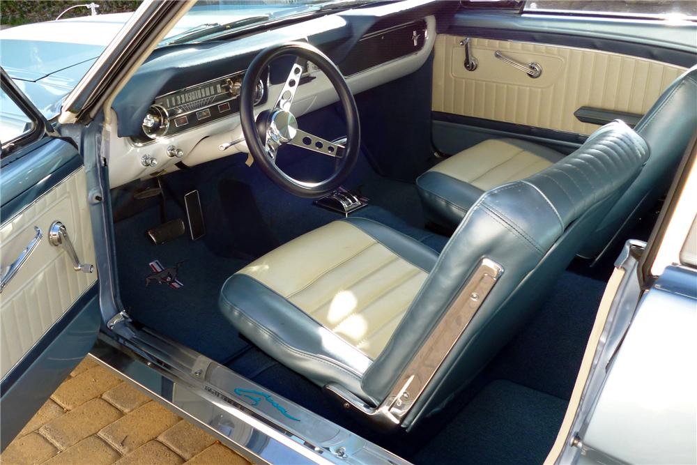 65 mustang interior kit mustang interior kit sport r upholstery with gray stitching coupe 65. Black Bedroom Furniture Sets. Home Design Ideas