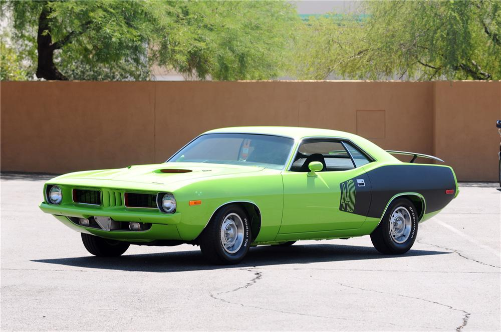 1973 PLYMOUTH CUDA CUSTOM 2 DOOR COUPE - Front 3/4 - 130778