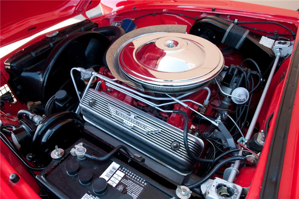 1957 FORD THUNDERBIRD CONVERTIBLE - Engine - 130782