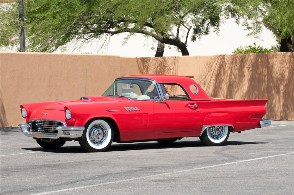 1957 FORD THUNDERBIRD CONVERTIBLE - Front 3/4 - 130782
