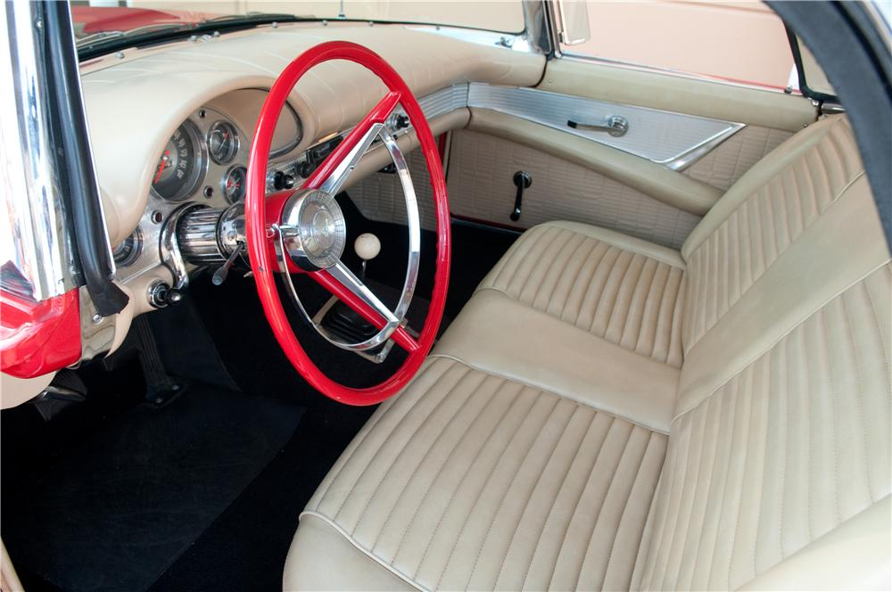 1957 FORD THUNDERBIRD CONVERTIBLE - Interior - 130782