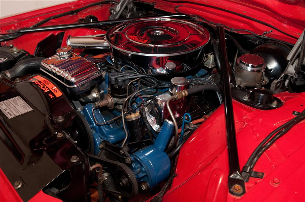 1966 FORD THUNDERBIRD CONVERTIBLE - Engine - 130786