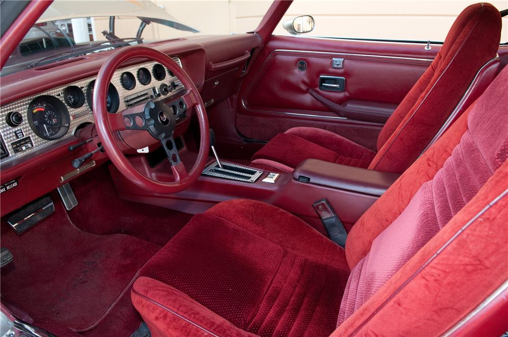 1979 PONTIAC FIREBIRD TRANS AM 2 DOOR COUPE - Interior - 130791