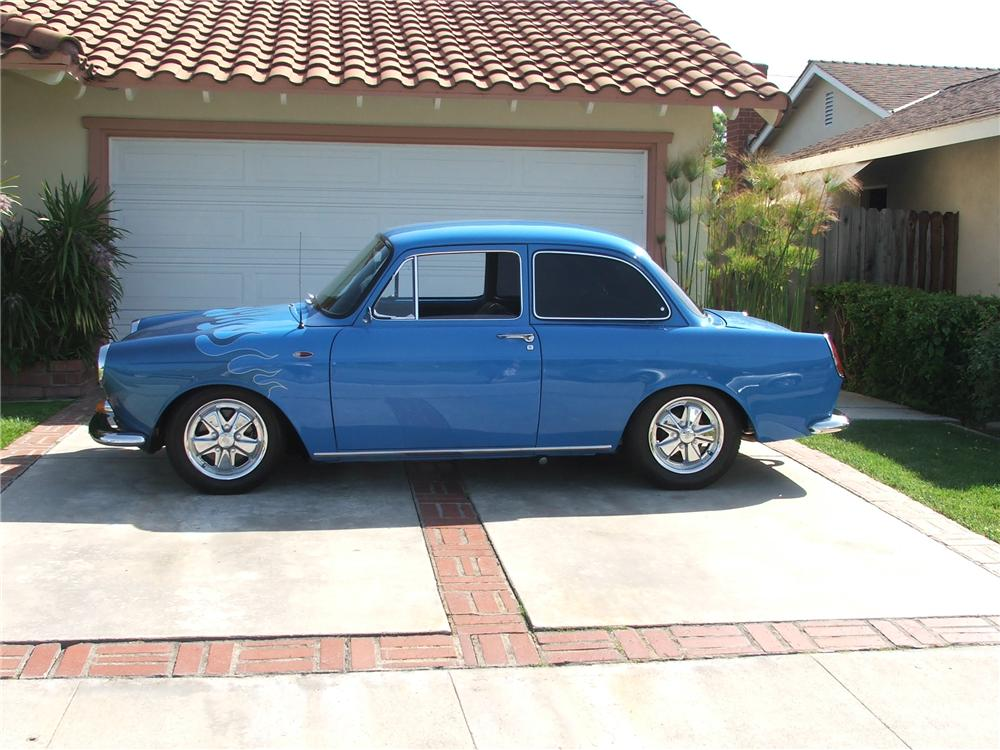 1963 VOLKSWAGEN CUSTOM NOTCHBACK COUPE - Side Profile - 130899