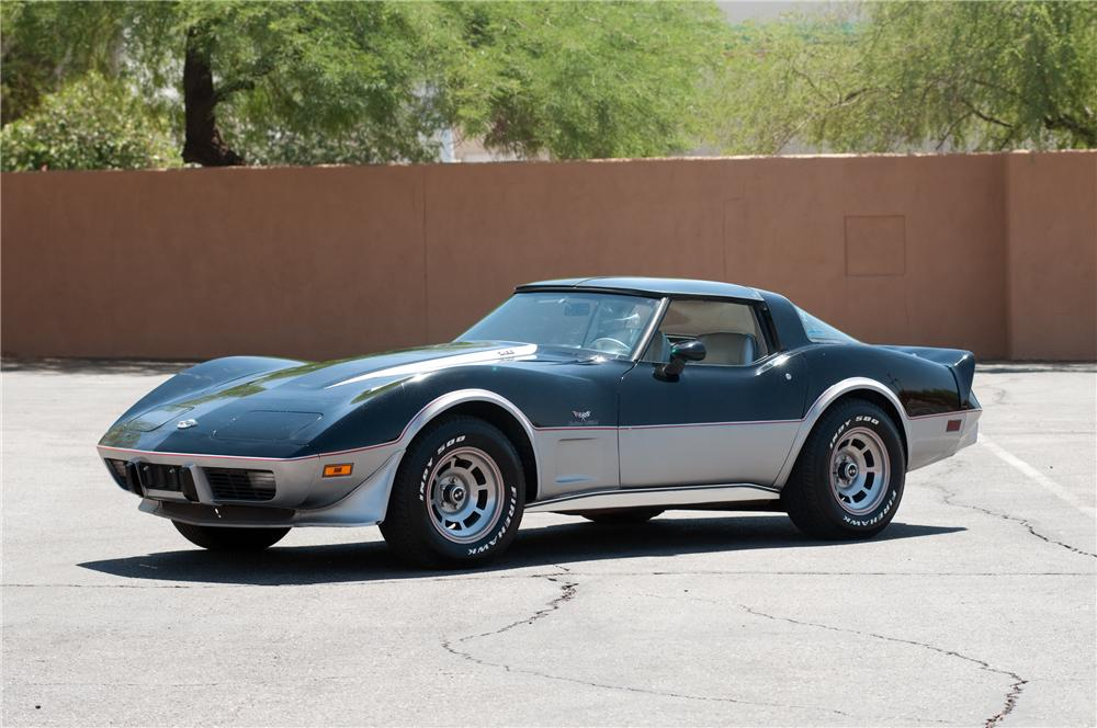 1978 CHEVROLET CORVETTE PACE CAR 2 DOOR COUPE - Front 3/4 - 130901