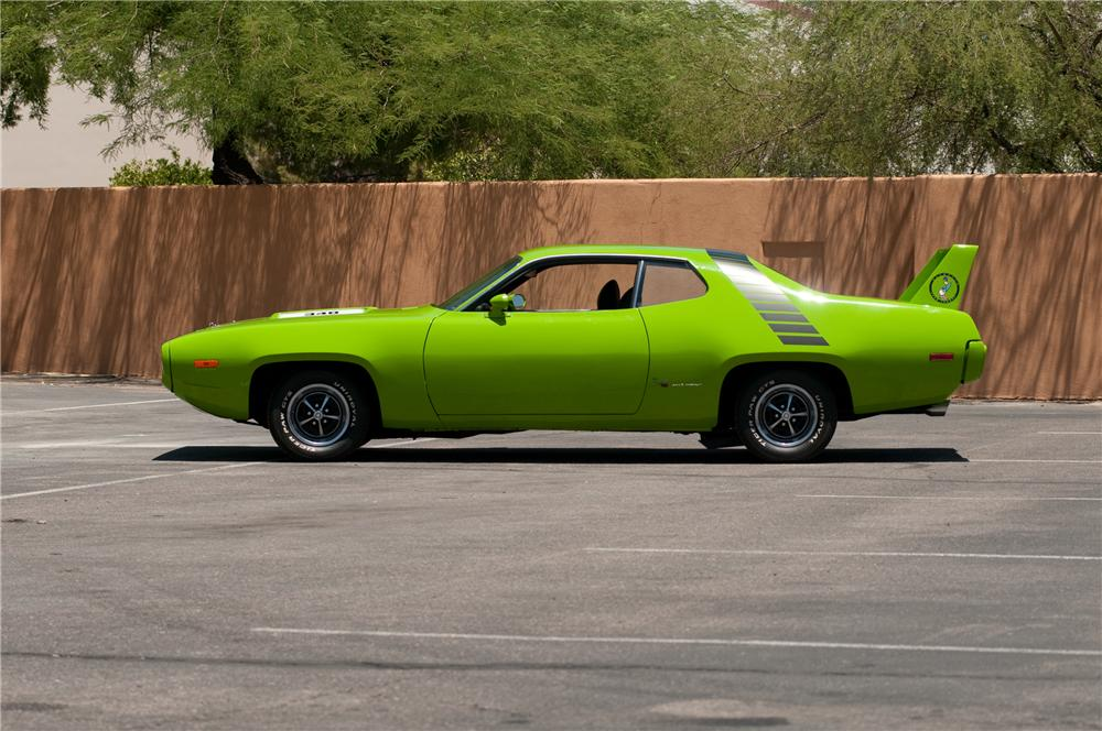 1972 PLYMOUTH ROAD RUNNER CUSTOM 2 DOOR COUPE - Side Profile - 130906
