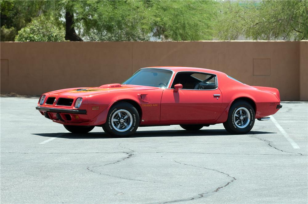 1974 PONTIAC FIREBIRD TRANS AM 2 DOOR COUPE - Front 3/4 - 130910